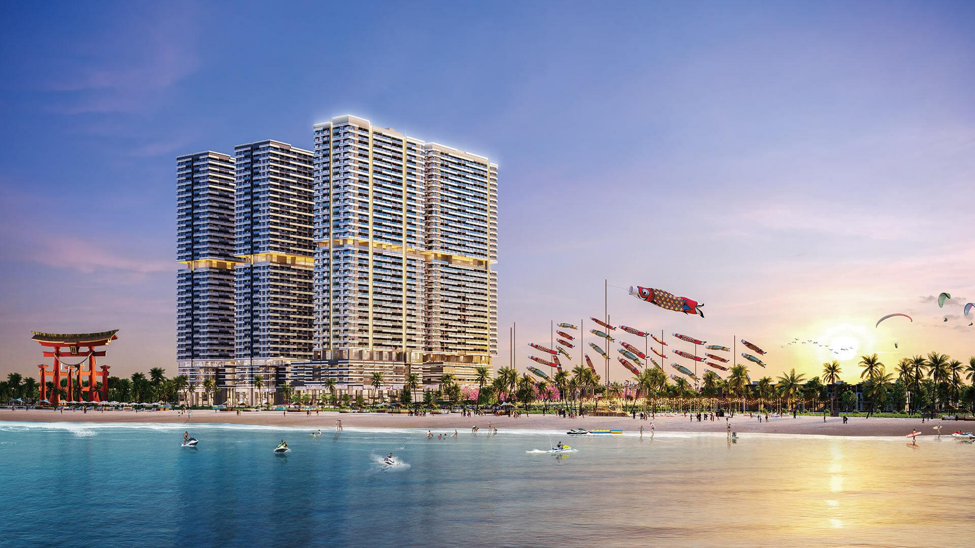 Các dự án được đầu tư phong phú về mặt tiện ích như Takashi Ocean Suite Kỳ Co sẽ thu hút nhà đầu tư